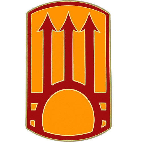 111th Sustainment Brigade Combat Service Identification Badge