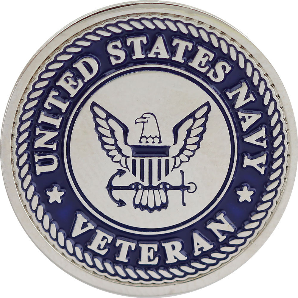 United States Navy Veteran Lapel Pin