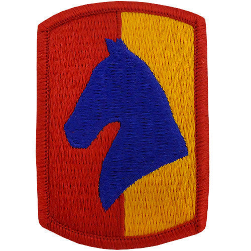138th Field Artillery Brigade Class A Patch