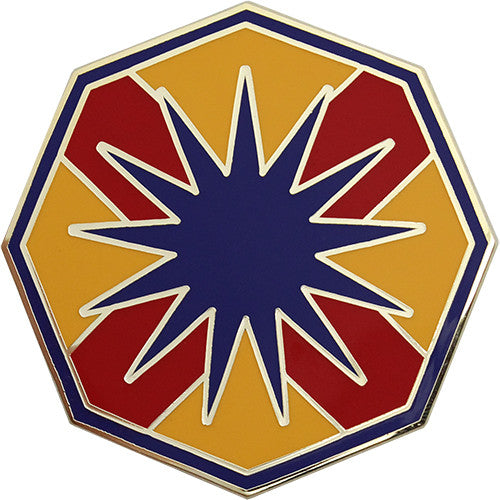 13th Sustainment Command (Expeditionary) Combat Service Identification Badge