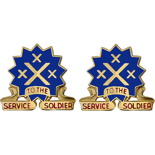 13th Sustainment Command (Expeditionary) Unit Crest (Service to the Soldier)