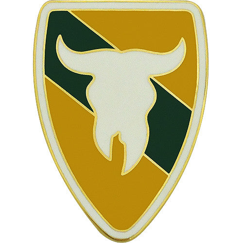 163rd Armored Brigade Combat Service Identification Badge