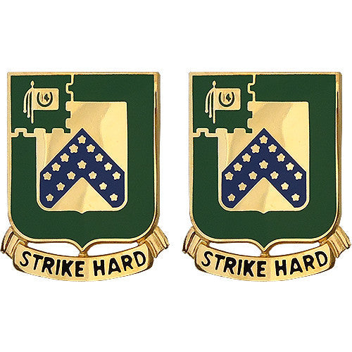 16th Cavalry Regiment Unit Crest (Strike Hard)