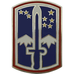172nd Infantry Brigade Combat Service Identification Badge
