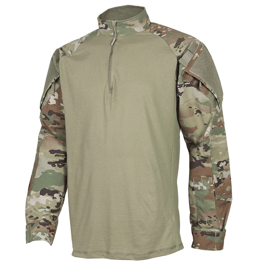 OCP Scorpion Combat Shirt  - 1/4 Zip Berry Compliant