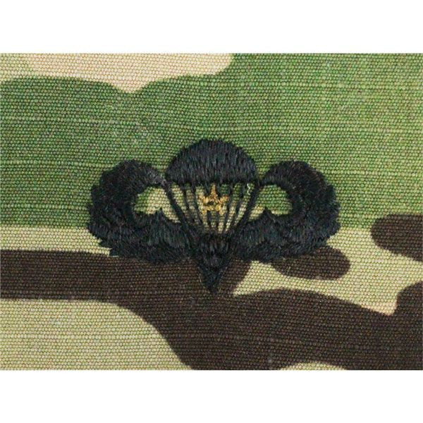 MultiCam/Scorpion (OCP) Army Combat Parachutist Embroidered Badges