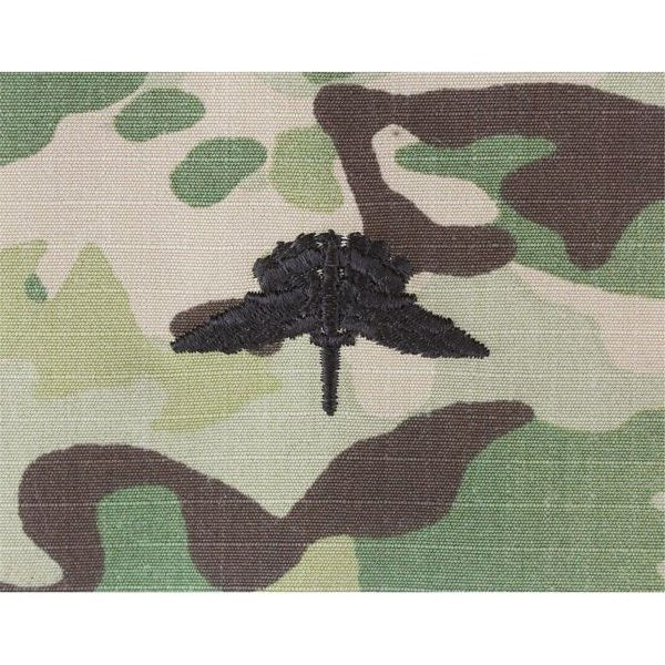 MultiCam/Scorpion (OCP)  Military Free Fall Parachutist (HALO) Embroidered Badges