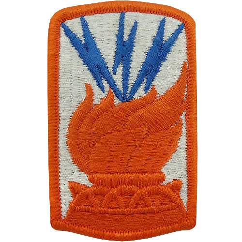 187th Signal Brigade Class A Patch