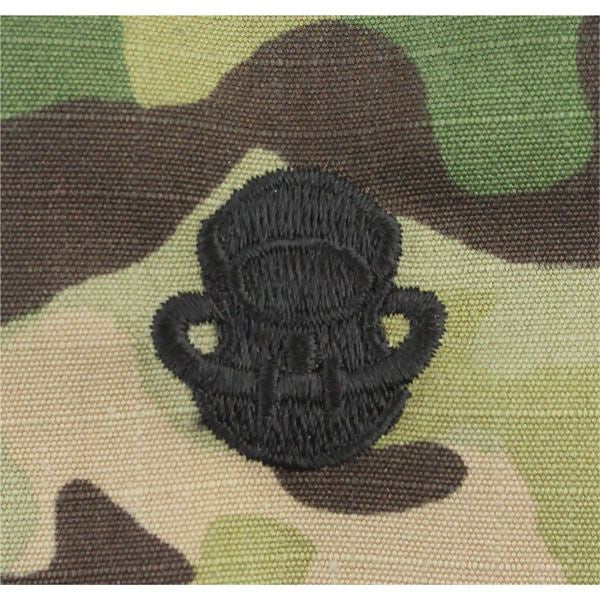 MultiCam/Scorpion (OCP) Scuba Diver Embroidered Badge