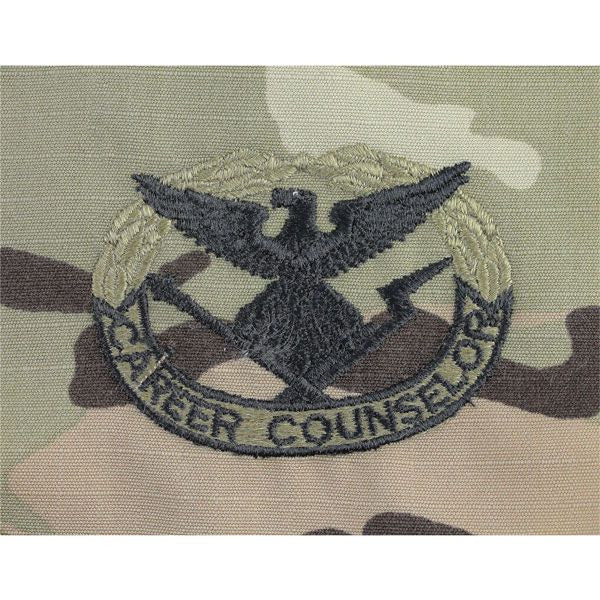MultiCam/Scorpion (OCP)  Army Career Counselor Embroidered Badge