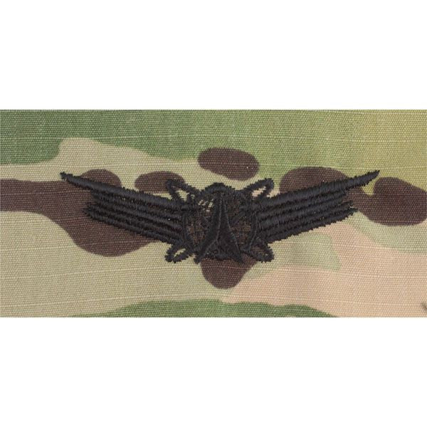 MultiCam/Scorpion (OCP) Air Force Space Operations Embroidered Badges