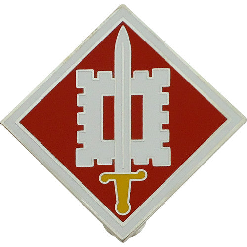 18th Engineering Brigade Combat Service Identification Badge