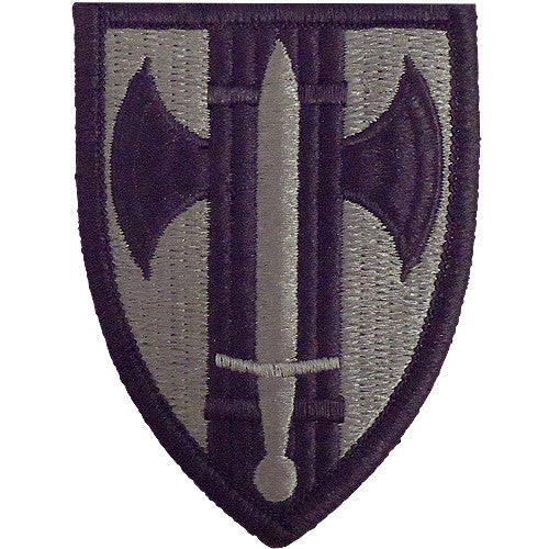 18th MP (Military Police) Brigade ACU Patch
