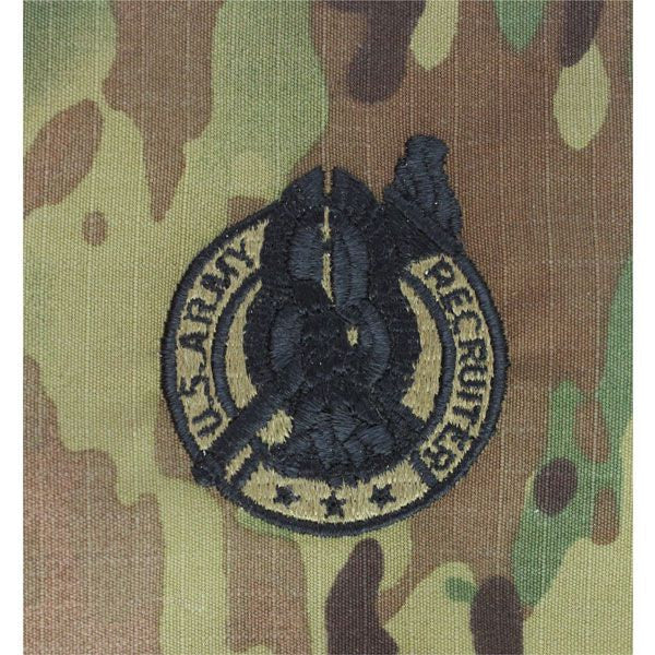 MultiCam/Scorpion Army Recruiter Embroidered Badge | USAMM | 600 x 600 jpeg 95kB