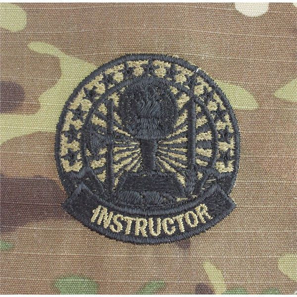 MultiCam/Scorpion (OCP) Army Occupational Instructor Badges