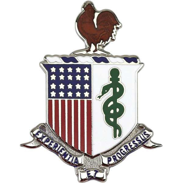 Army Medical Regimental Corps Crest (New Version) | USAMM