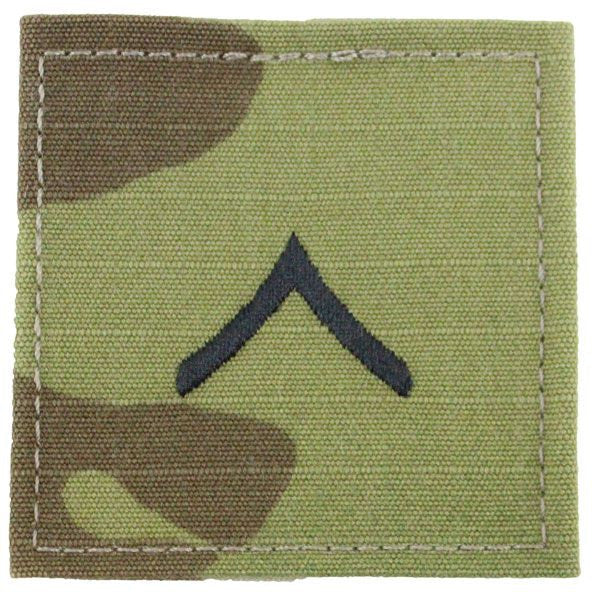 Scorpion 2 x 2 Sew-On Blouse Rank - Officer and Enlisted