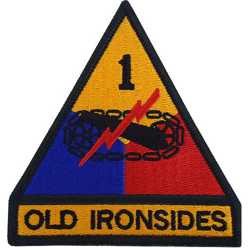 1st Armored Division Class A Patch