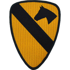 1st Cavalry Division Class A Patch