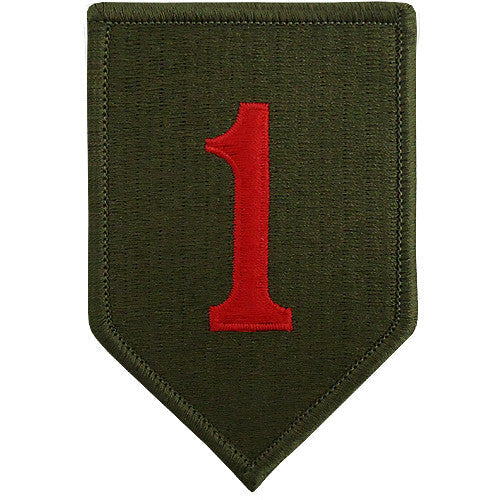 1st Infantry Division Class A Patch
