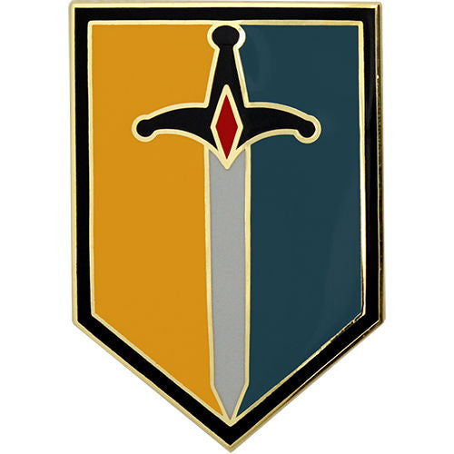 1st Maneuver Enhancement Brigade Combat Service Identification Badge