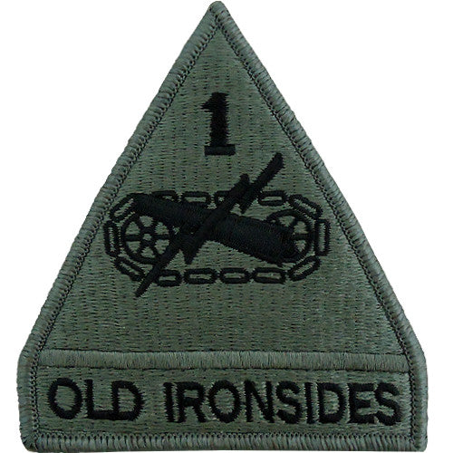 1st Armored Division ACU Patch