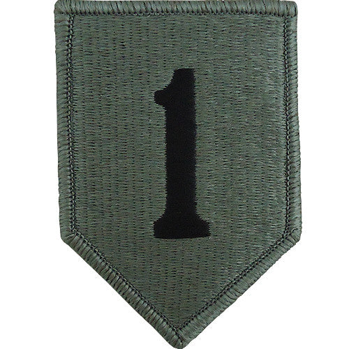 1st Infantry Division ACU Patch