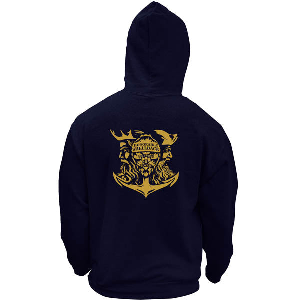 Original Navy Honorable Shellback Pullover Hoodie