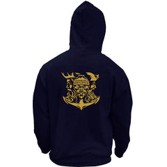 Original Navy Honorable Shellback USN Veteran Pullover Hoodie Sweatshirt
