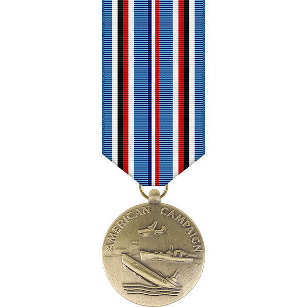 American Campaign Miniature Medal - WWII