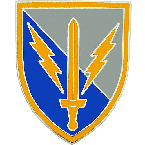 201st Military Intelligence Brigade Combat Service Identification Badge