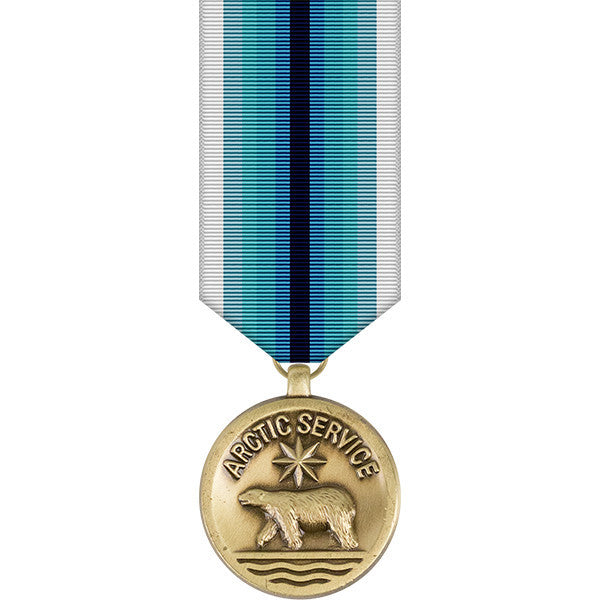 Coast Guard Arctic Service Miniature Medal