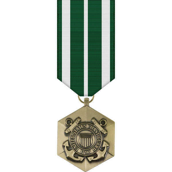 Coast Guard Commendation Miniature Medal