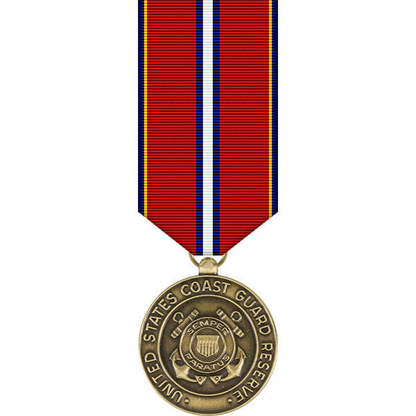 Coast Guard Reserve Good Conduct Miniature Medal