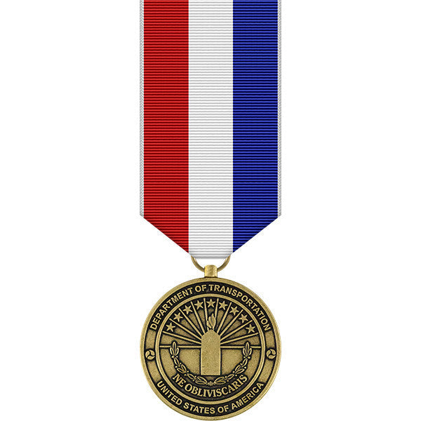 Department of Transportation 9-11 Miniature Medal