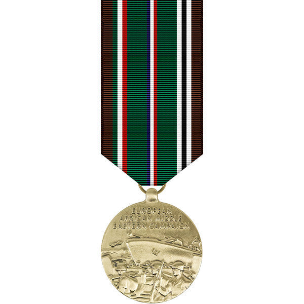European - African - Middle Eastern Campaign Miniature Medal- WWII