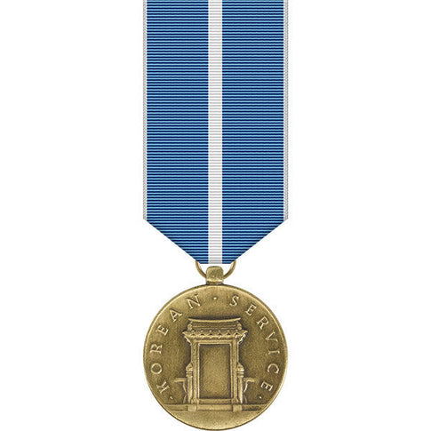 Korean Service Miniature Medal