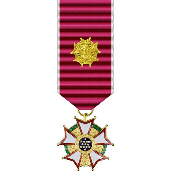 Legion of Merit Officer Miniature Medal