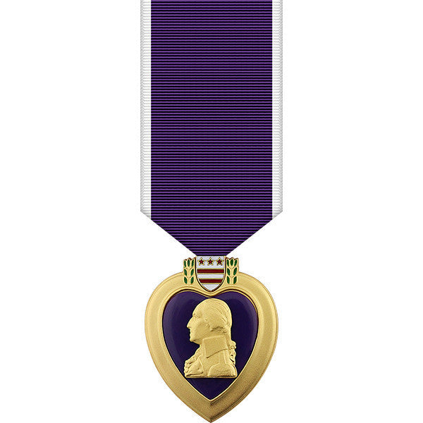 Purple Heart Miniature Medal