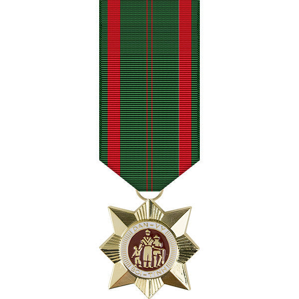 Republic of Vietnam Civil Action 1C Miniature Medal