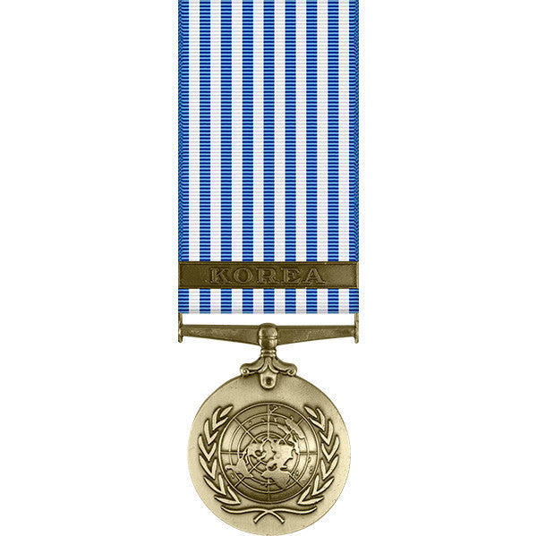 United Nations Korean Service Miniature Medal