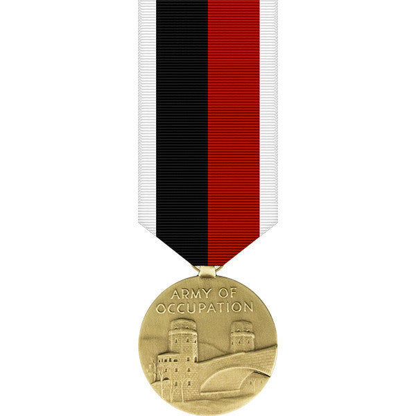 World War II Army of Occupation Miniature Medal
