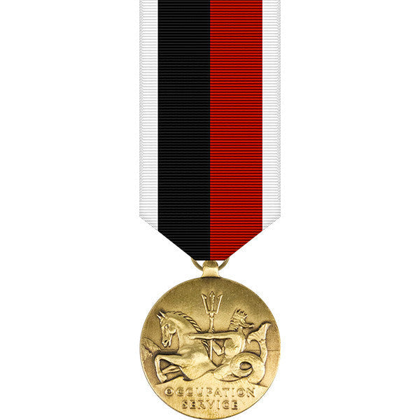 World War II Navy Occupation Service Miniature Medal