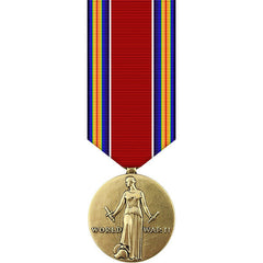 World War II Victory Miniature Medal