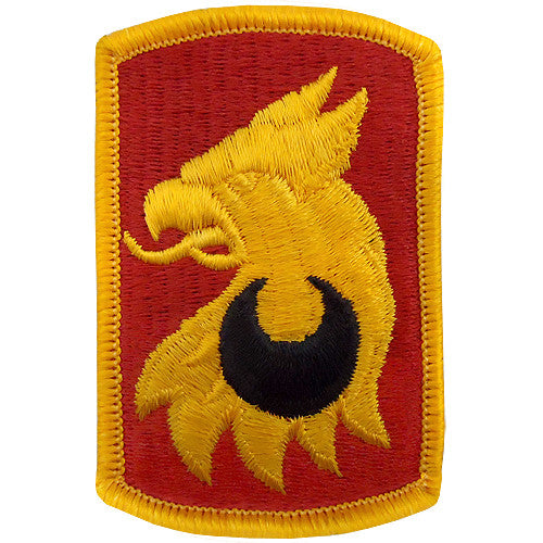 209th Field Artillery Brigade Class A Patch