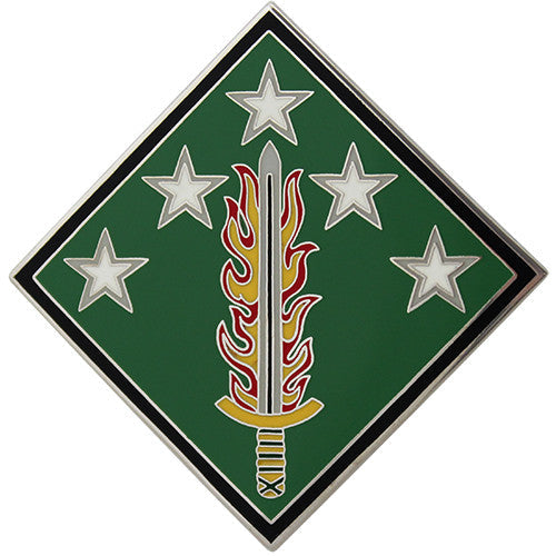 20th Support Command Combat Service Identification Badge