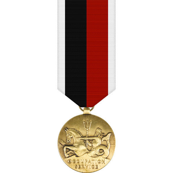World War II Marine Corps Occupation Miniature Medal