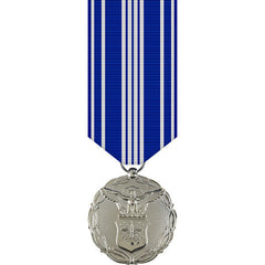Air Force Civilian Achievement Award Miniature Medal