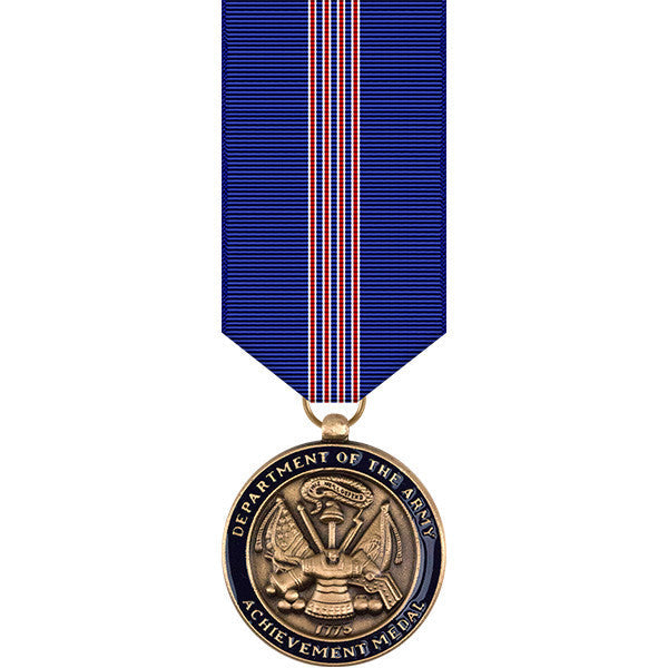 Army Achievement Miniature Medal for Civilian Service
