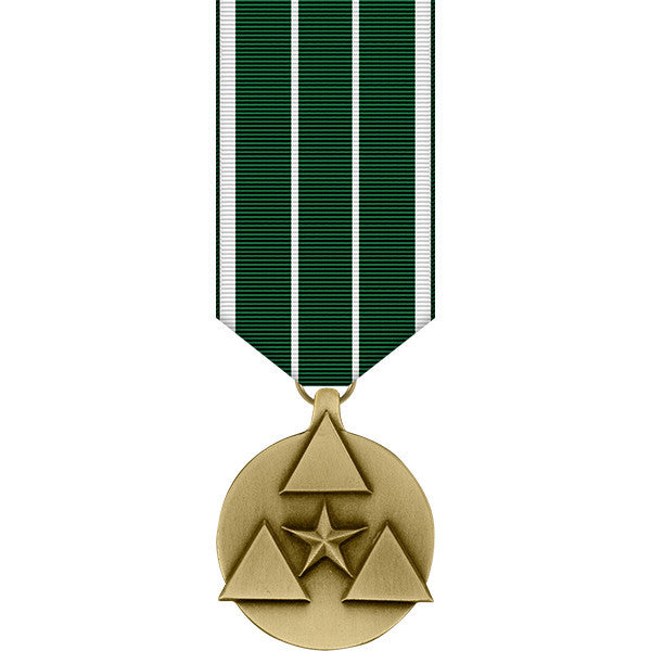Army Civilian Service Commendation Miniature Medal